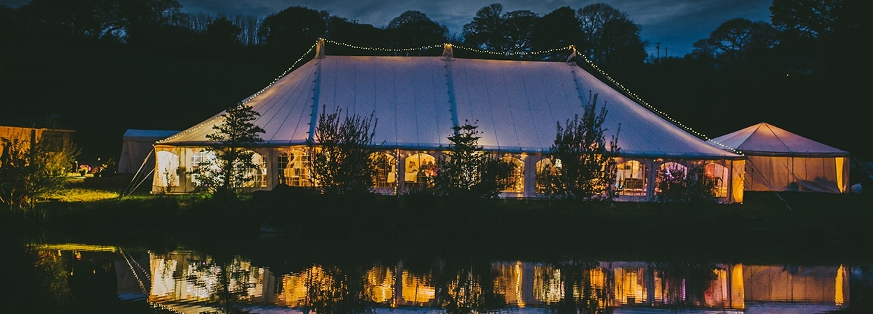 Absolute Canvas Cornwall Wedding Marquees our marquees